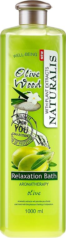 "Olio da bagno rilassante ""Olive"" - Naturalis Olive Wood Relaxation Bath"