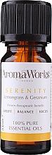 Profumi e cosmetici Miscela di oli essenziali - AromaWorks Serenity Essential Oil