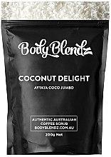 Profumi e cosmetici Scrub corpo al caffè e cocco - Body Blendz Coconut Delight Scrub