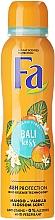 Profumi e cosmetici Deodorante spray con mango e vaniglia - Fa Bali Kiss Deodorant