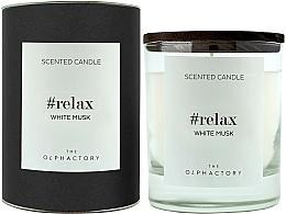 "Profumi e cosmetici Candela profumata ""Muschio bianco"" - Ambientair The Olphactory Relax White Musk Black Design"