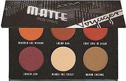 Profumi e cosmetici Palette ombretti - Zoeva Voyager Matte Eyeshadow Palette