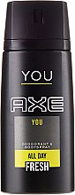 Profumi e cosmetici Deodorante spray - Axe You Deodorant Spray
