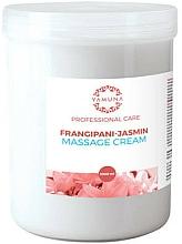 "Profumi e cosmetici Crema da massaggio ""Frangipani e Gelsomino"" - Yamuna Massage Cream"