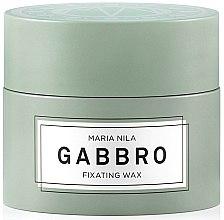 Profumi e cosmetici Cera capelli a tenuta forte - Maria Nila Minerals Gabbro Fixating Wax
