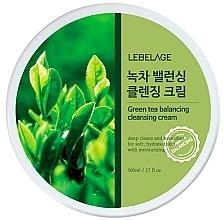 Profumi e cosmetici Crema viso detergente - Lebelage Green Tea Balancing Cleansing Cream