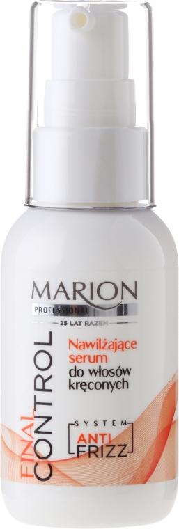 Siero idratante per capelli ricci - Marion Professional Final Control