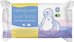 Profumi e cosmetici Salviette umidificate per neonati - Natracare Organic Cotton Baby Wipes