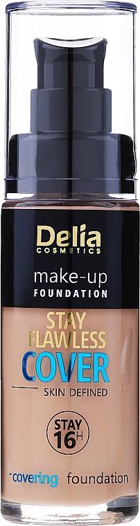 Fondotinta - Delia Cosmetics Stay Flawless Cover