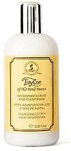 Profumi e cosmetici Taylor of Old Bond Street Sandalwood Luxury Hair Conditioner - Condizionante per capelli