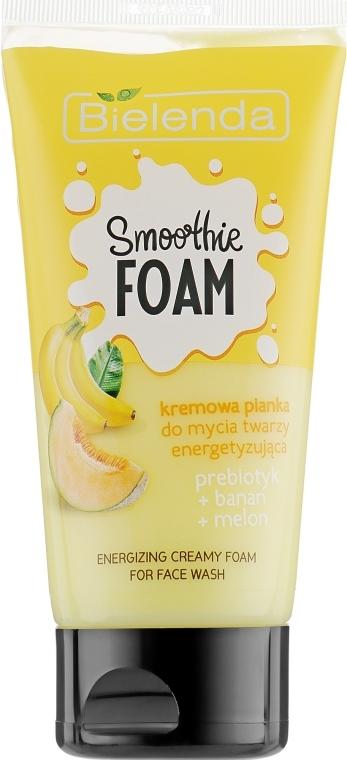 "Schiuma detergente energizzante ""Melone e banana"" - Bielenda Smoothie Foam Banana And Melon — foto N1"