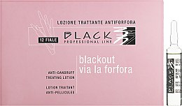 Profumi e cosmetici Lozione antiforfora, in fiale - Black Professional Line Anti-Dandruff Hair Lotion