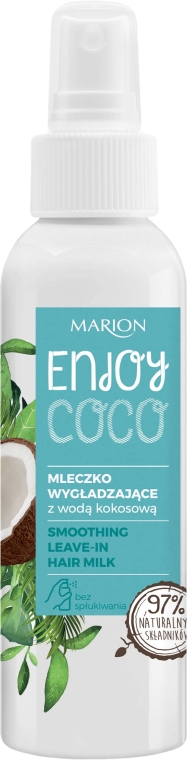 Latte levigante per capelli con acqua di cocco - Marion Enjoy Coco Smoothing Leave In Hair Milk