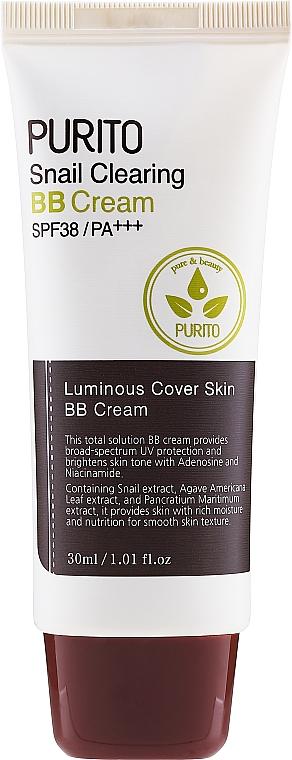 BB Crema alla bava di lumaca - Purito Snail Clearing BB Cream SPF38/PA+++