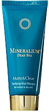 Profumi e cosmetici Maschera al fango purificante per pelli normali e grasse - Minerallium Purifying Mud Masqu