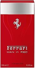 Profumi e cosmetici Ferrari Man in Red - Dopobarba