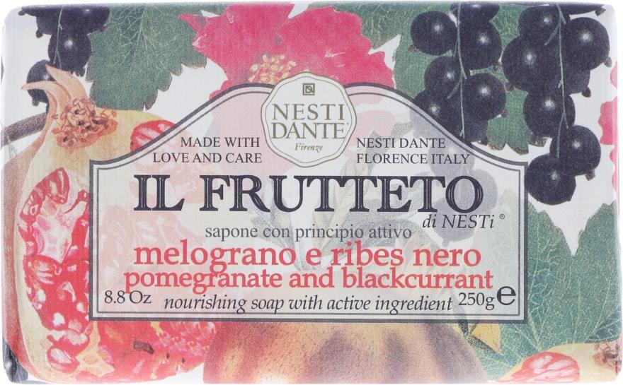 """Sapone con principio attivo """"Melograno e ribes nero """" - Nesti Dante Il Frutteto Soap — foto N1"""