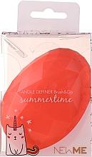 Profumi e cosmetici Spazzola per capelli, rosa - Beauty Look Tangle Definer Brush & Go