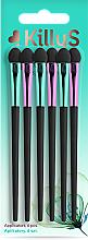 Profumi e cosmetici Set applicatori lunghi, 6 pz. - Killys Botanical Inspiration Applicators