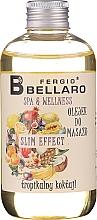 """Profumi e cosmetici Olio da massaggio """"Fruit"""" - Fergio Bellaro Massage Oil"""