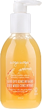 Profumi e cosmetici Crema-gel per la pulizia della pelle con olivello spinoso e olio d'arancia - Uoga Uoga Good Mood Concentrate Natural Face Wash