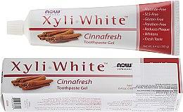 Profumi e cosmetici Dentifricio alla cannella - Now Foods XyliWhite Toothpaste Gel