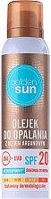 Profumi e cosmetici Olio solare con olio di argan - Golden Sun SPF 20
