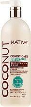 Profumi e cosmetici Balsamo per capelli - Kativa Coconut Conditioner