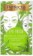 Profumi e cosmetici Patch occhi - Perfecta Eye Patch Aloe & Vitamins