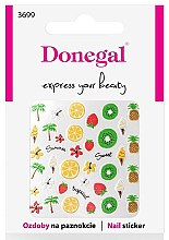 Profumi e cosmetici Adesivi per unghie, 3699 - Donegal