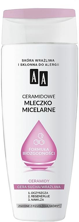 Latte detergente micellare con ceramidi - AA Biocompatibility Formula