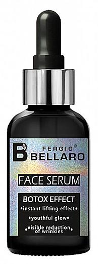 Siero viso con effetto botox - Fergio Bellaro Botox Effect Face Serum White