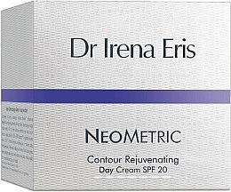 Profumi e cosmetici Crema viso ringiovanente, da giorno - Dr Irena Eris Neometric Contour Rejuvenating Day Cream SPF 20