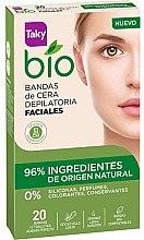 Profumi e cosmetici Strisce depilatorie per viso - Taky Bio Natural 0% Face Wax Strips