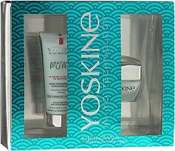 Profumi e cosmetici Set - Yoskine Okinava Green Caviar 50+ (cr/50ml + peeling/75ml)