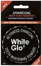 Profumi e cosmetici Polvere per lo sbiancamento dei denti - White Glo Activated Charcoal Teeth Polishing Powder