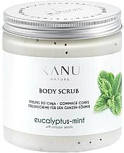 "Profumi e cosmetici Scrub piedi ""Eucalipto e menta"" - Kanu Nature Eucalyptus With Mint Body Scrub"