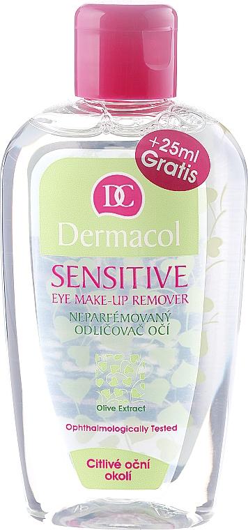 Struccante delicato per gli occhi sensibili - Dermacol Sensitive Eye Make-Up Remover — foto N1
