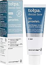Profumi e cosmetici Crema idratante, da giorno - Tolpa Provivo 35+ Moisturising Anti-Age Cream