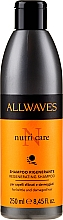 Profumi e cosmetici Shampoo per capelli danneggiati - Allwaves Nutri Care Regenerating Shampoo