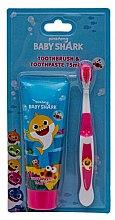 Profumi e cosmetici Set - Pinkfong Baby Shark (tpst/75ml + tbrsh/1pz)
