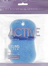 Profumi e cosmetici Spugna da bagno-peeling, blu - Suavipiel Active Esponja Peeling