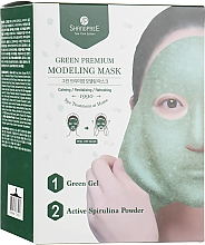 Profumi e cosmetici Maschera viso modellante - Shangpree Green Premium Modeling Mask