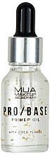 Profumi e cosmetici Primer viso con fiocchi d'oro - Mua Pro/ Base Primer Oil With Gold Flakes