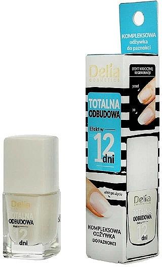 """Balsamo per unghie """"Recupero completo in 12 giorni"""" - Delia Super Total Restoration Nail Conditioner"""