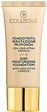 Profumi e cosmetici Fondotinta - Collistar Deep Moisturizing Foundation SPF15