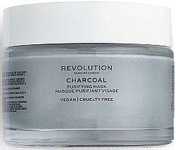 Profumi e cosmetici Maschera detergente all'argilla - Revolution Skincare Charcoal Purifying Mask
