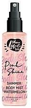 """Profumi e cosmetici Spray corpo """"Anguria"""" - MonoLove Bio Shimmer Body Mist Watermelon Pink Shine"""