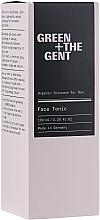 Profumi e cosmetici Tonico viso - Green + The Gent Face Tonic
