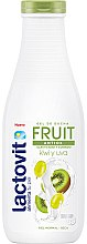 "Profumi e cosmetici Gel doccia ""Kiwi e Uva"" - Lactovit Fruit Shower Gel"
